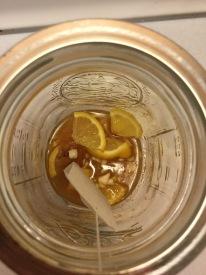 Foot Tea Inside